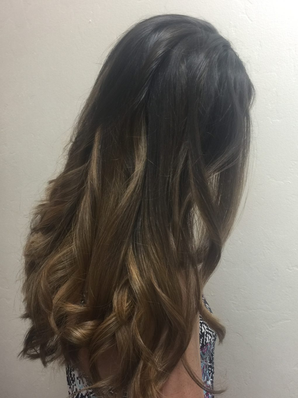 ombre hair balayage